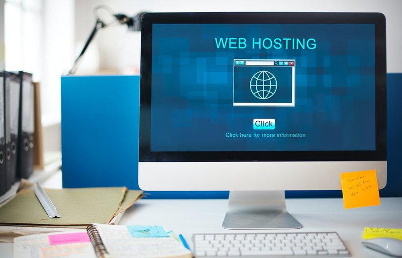 istilah web hosting