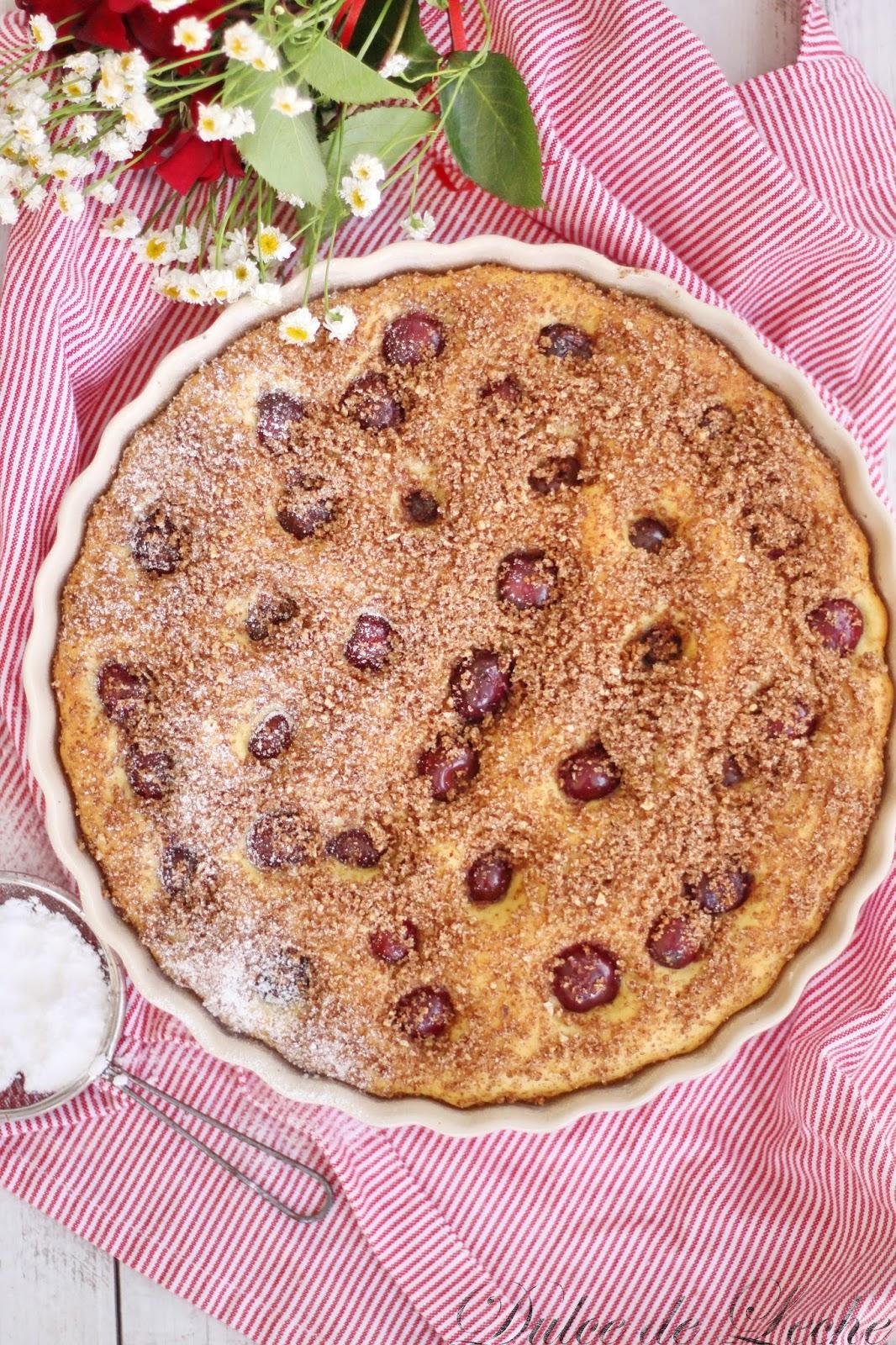 Najlepší kysnutý koláč s čerešňami