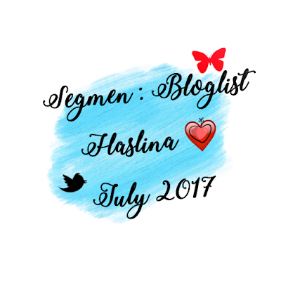 'Segmen: Bloglist Haslina : July 2017'