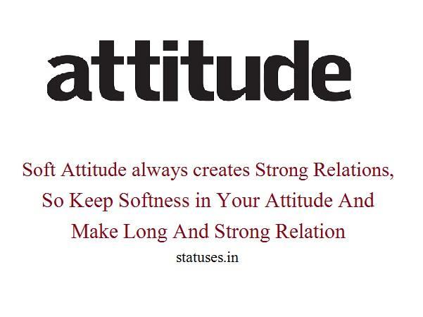 Attitude status for boys n english