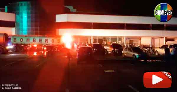 Se  incendió un supermercado en Palo Negro Estado Aragua