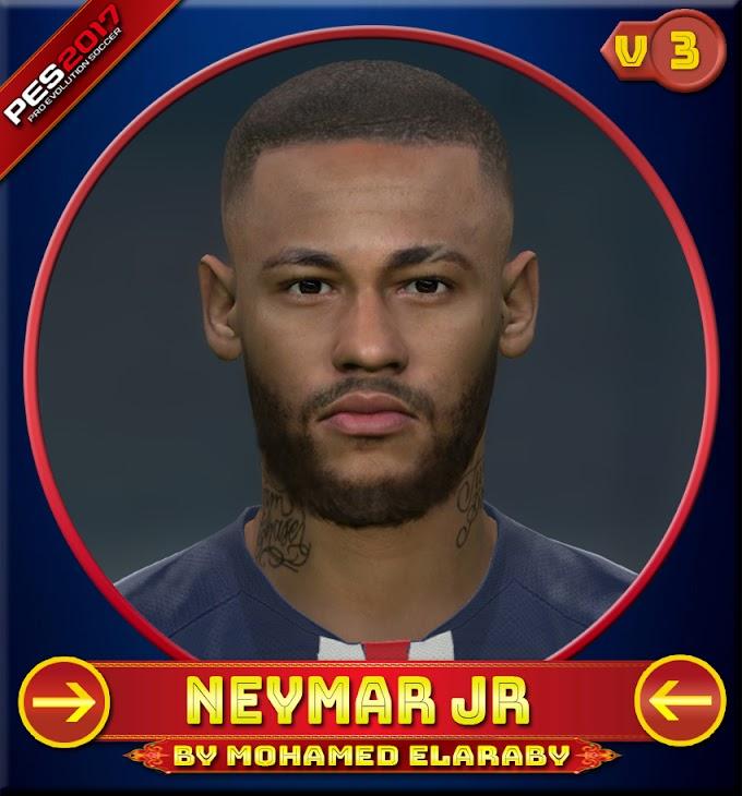 Neymar jr Face V.3 Paris Saint Germain Player - PES 2017