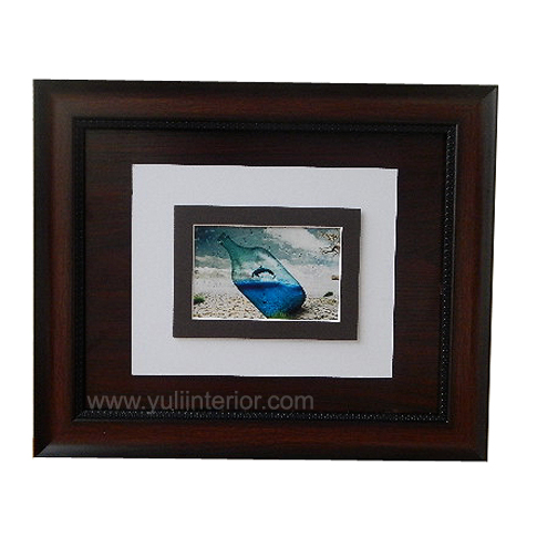11 x 14 Brown Dolphin Illusion Wall Frame, Nigeria