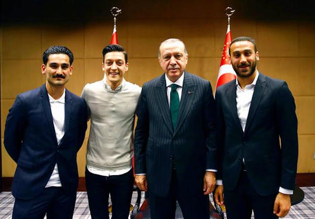 Bertemu Presiden Turki, Mesut Ozil Dan Ilkay Gundogan Dikecam Federasi Sepak Bola Jerman