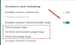 Custom-robots-header-tags-blogger
