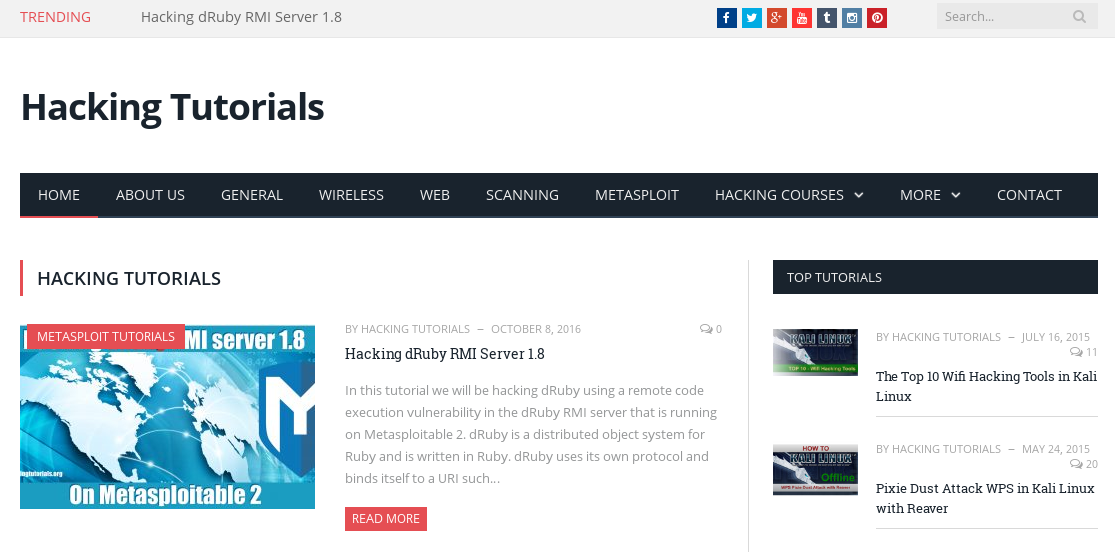 2016 - Kali Linux Hacking Tutorials