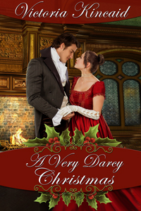 Book Cover: A Very Darcy Christmas by Victoria Kincaid