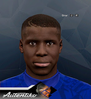 PES 2017 Faces Kurt Zouma by Autentiko
