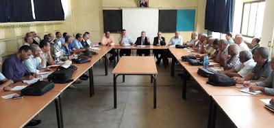 اجراءات وتدابير استباقية لإنجاح الدخول المدرسي بالمديرية الإقليمية لسيدي سليمان