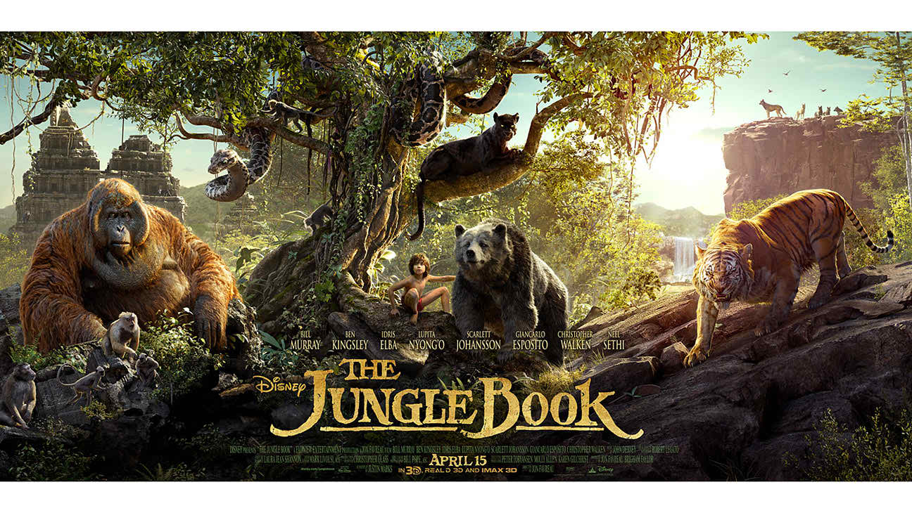The Jungle Book 2016 English Movie Download Free HD DVDrip