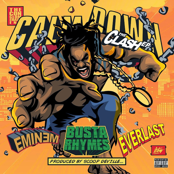 Busta Rhymes - Calm Down: The Clash EP Cover