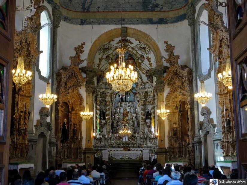 Igreja de São Francisco de Assis, em São João del Rei - II Encontro de Inverno de Blogueiros de Viagem