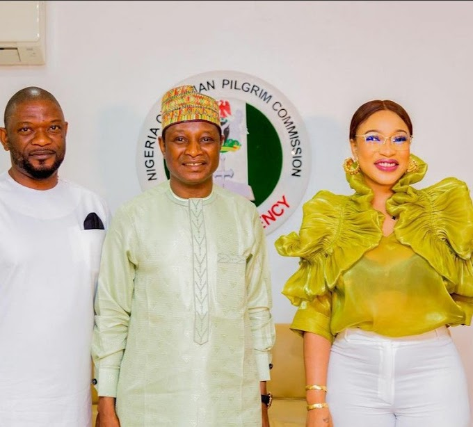 CONTROVERSY: Tonto Dikeh Speaks As Christian Commission Denies Appointing Her As Their Ambassador