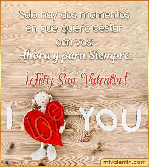 frases para enviar en san Valentín