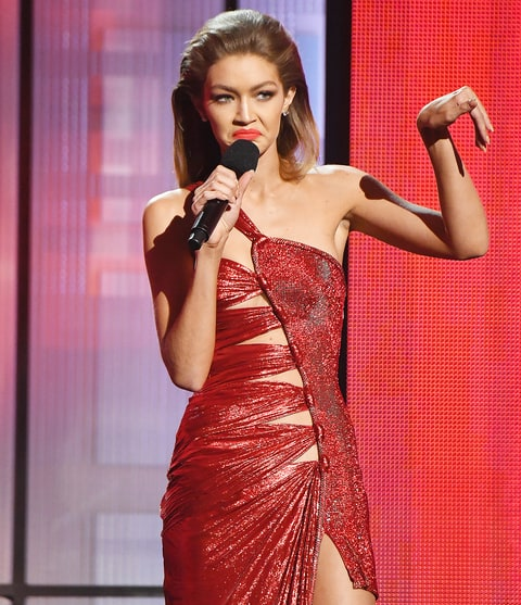 Gigi Hadid at the 2016 American Music Awards. Photo: Kevin Winter/Getty Images