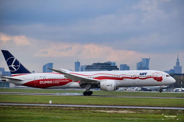 SP-LSC - Boeing 787-9 Dreamliner - LOT (Independence Livery)