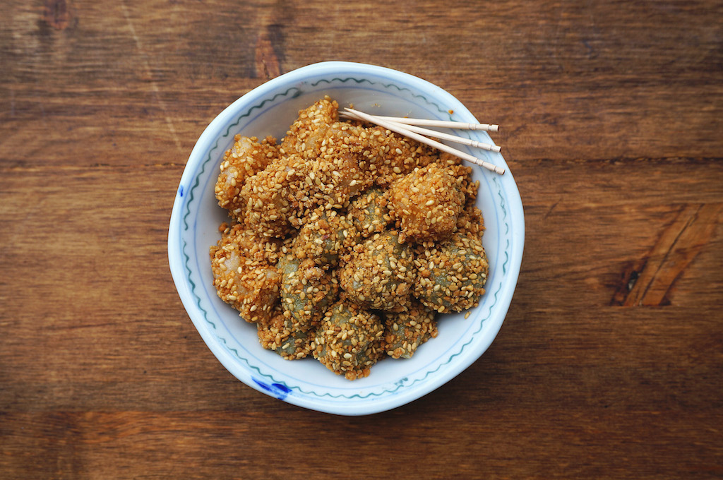 Seasaltwithfood: How To Make Muah Chee (Glutinous Rice Snack
