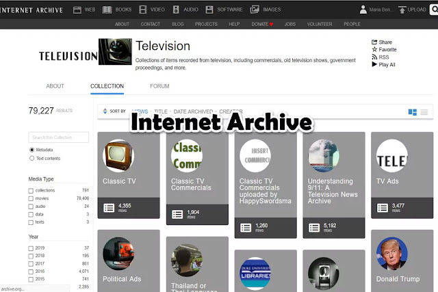 Internet Archive : Watch TV Online Free Streaming