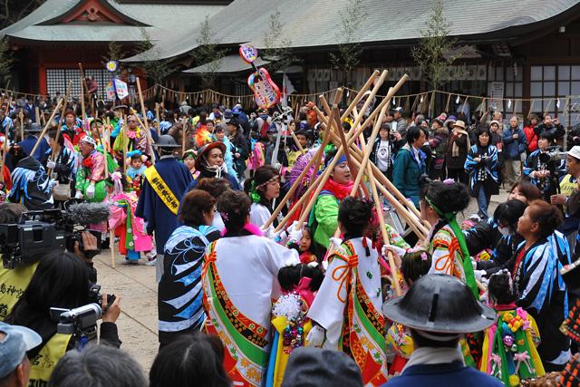 Saito Festival at Kashimajingu Shrine, Kashima City, Ibaraki Pref.