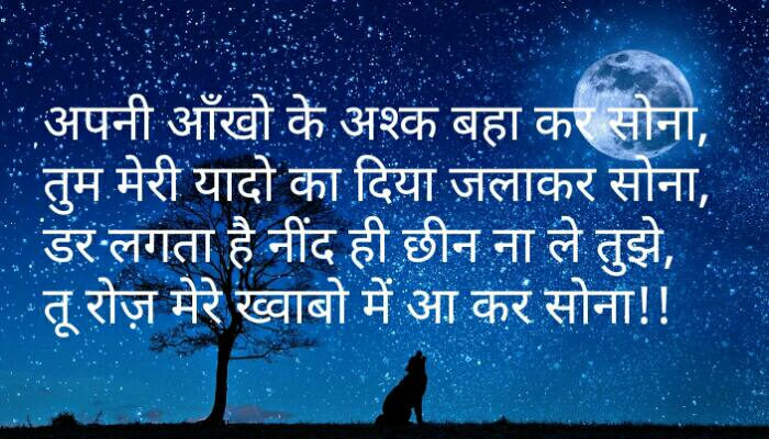 Hindi Good Night Message