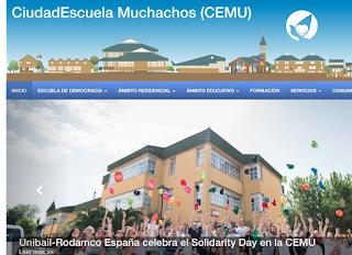 Página web del CEMU de Leganés