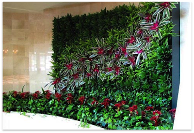 Jasa Tukang Taman Tuban Gambar Vertical garden