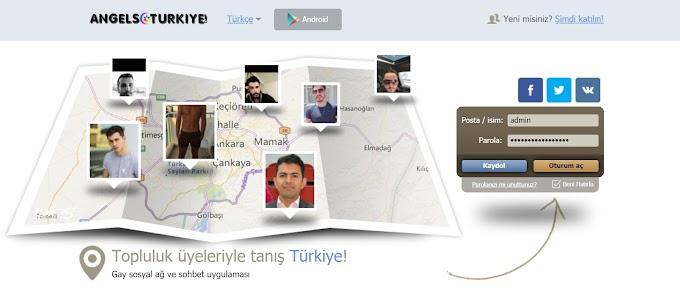 İstanbul gay arkadaşlık ve sohbet sitesi AngelsTurkiye