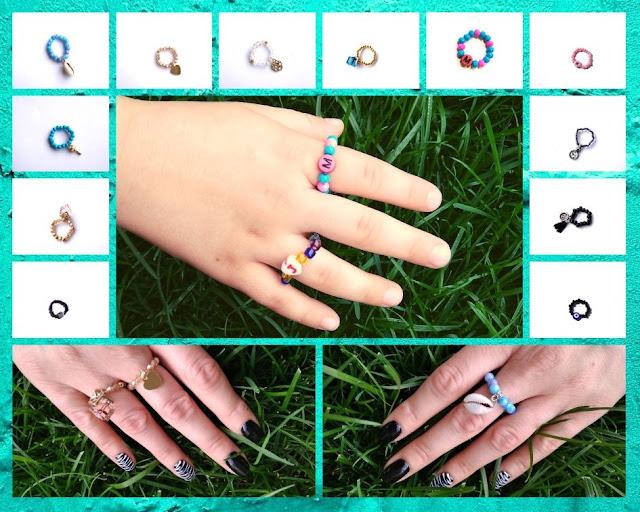 Elastyczne pierścionki