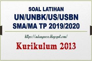 Download Soal Latihan UN/UNBK/USBN MATEMATIKA SMA/MA Beserta Kunci Jawaban