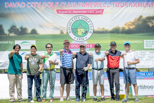 Davao City Golf Club hosts 'Last Tee' to give way to a new business district development