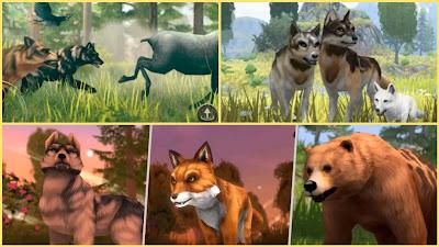 لعبة محاكاة وتقمص دور الذئب - حكايات الذئب - البيت والقلب - Game of Wolf Tales - House and Heart Simulation and Role Playing Game 2