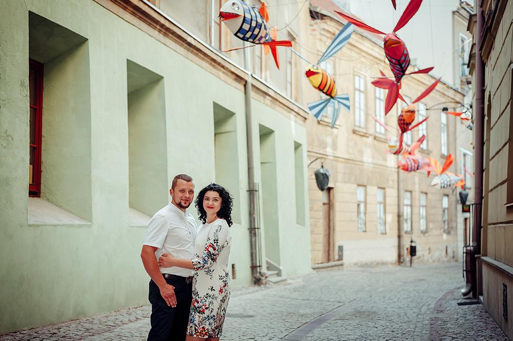 sesja narzeczeńska, Lublin, Stare Miasto, Noc Kultury