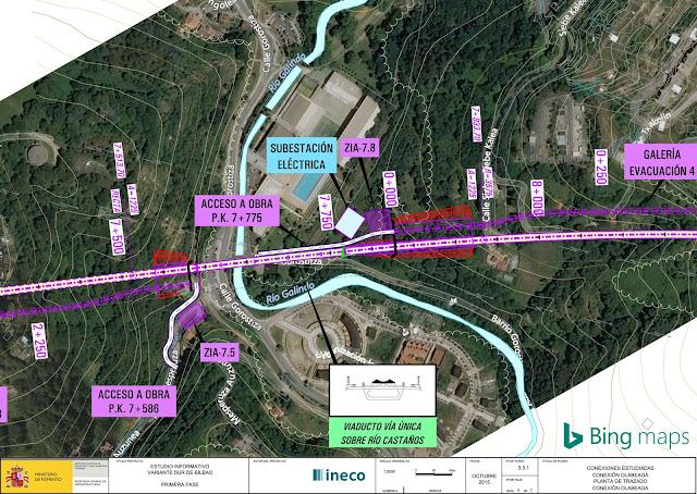 Proyecto de puente en Gorostiza