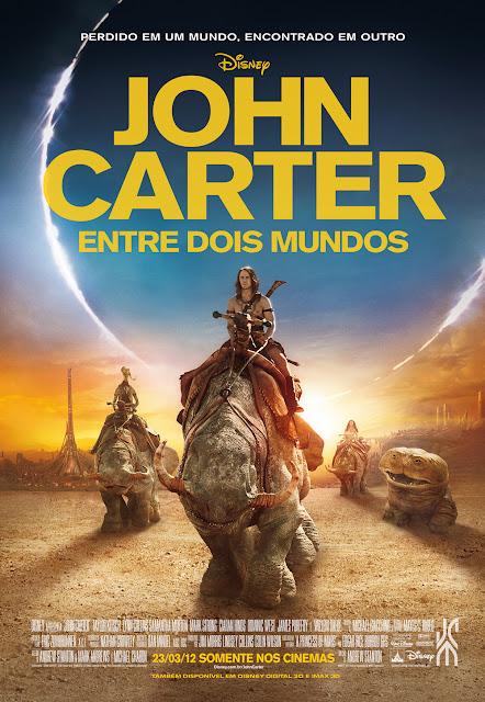 #Promo: Concorra a um par de ingressos + 2 marcadores de John Carter - Entre Dois Mundos. 17