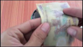 Dompet Rahasia dari Kaleng Bekas Buatan sendiri