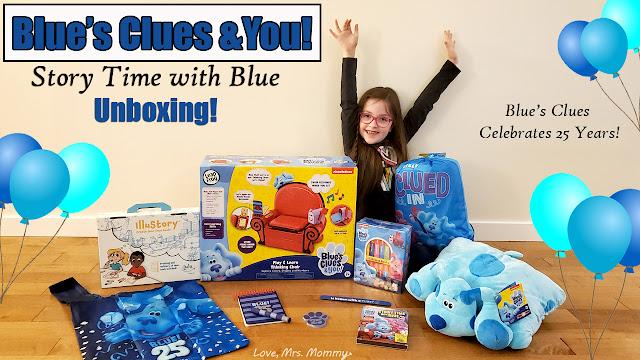 blue's clues & you unboxing video, blues clues and you toys, blues clues you tube video, thinking chair