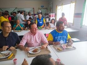 Com a presença do vice-governador, Prefeito Séliton Miranda inaugura Restaurante Popular em São Raimundo do Doca Bezerra