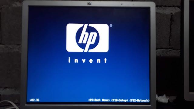 Press F10 to setup BIOS system