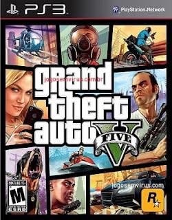 Baixar Grand Theft Auto V (GTA 5) PS3 PtBr Torrent ISO