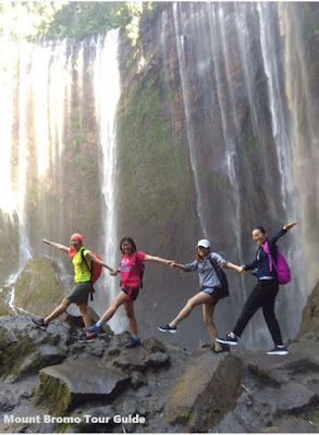 Tumpak Sewu Waterfall around Lumajang