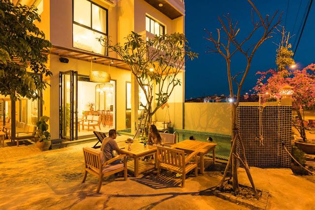 Basil Boutique Villa, thuê villa hội an