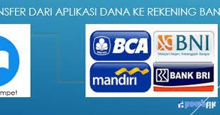 Transfer Saldo Dari Dana Ke Rekening Bank