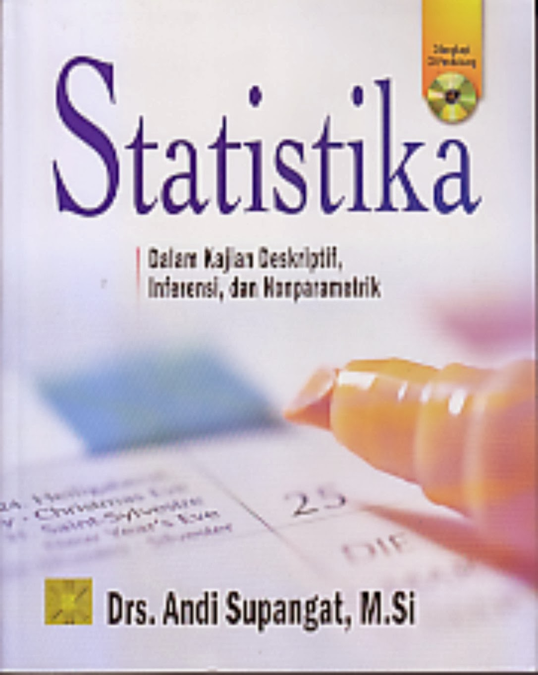 Uji perbandingan meliputi uji 2 sampel berkorelasi, uji 2 sampel tidak berkorelasi dan analisis ragam serta uji asumsi normalitas dan homogenitas. Toko Buku Rahma Statistika Dalam Kajian Deskriptif Inferensi Dan Nonparametrik
