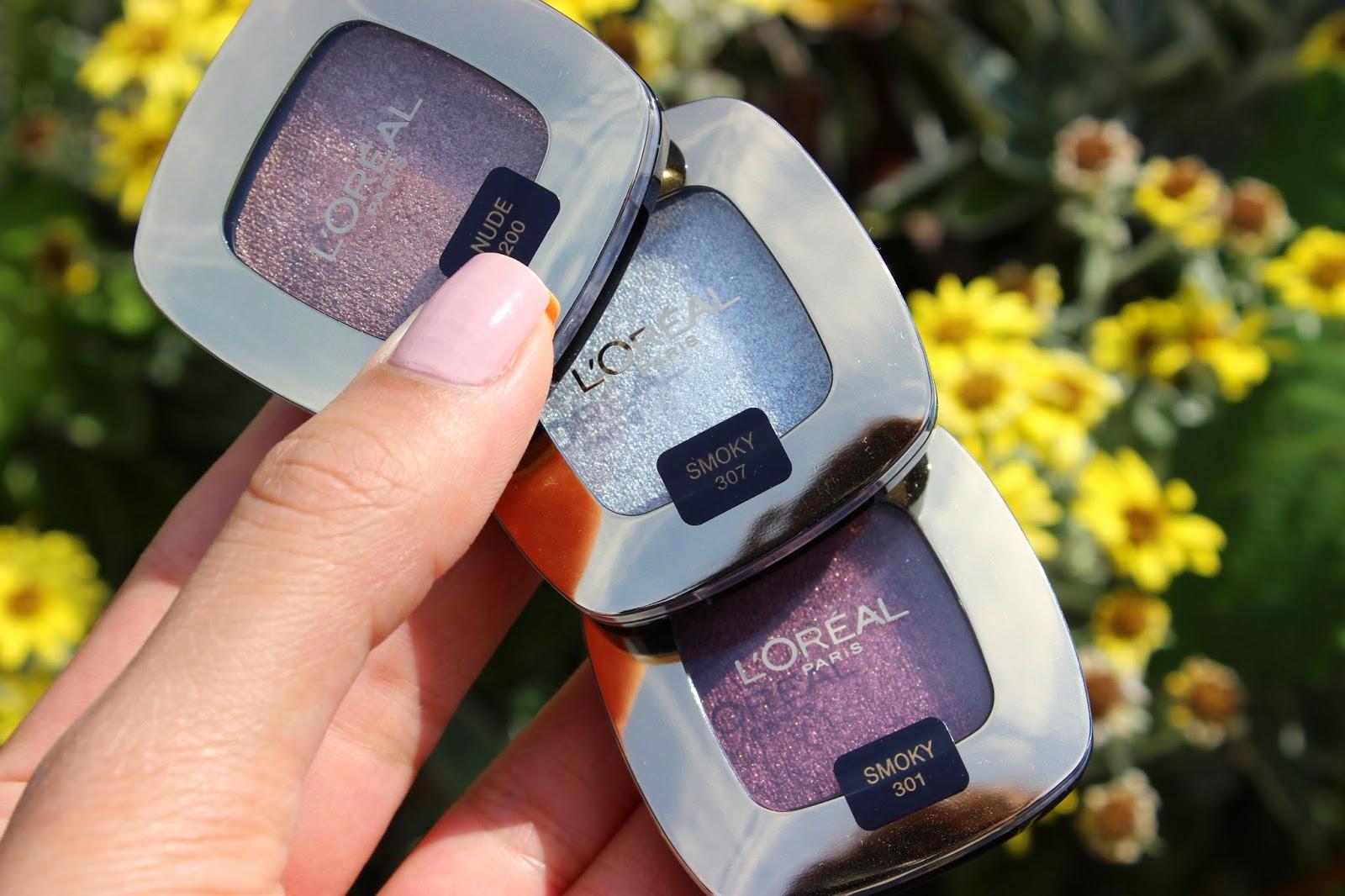 The Nail and Beauty Corner: Loréal Color Riche L'Ombre Pure