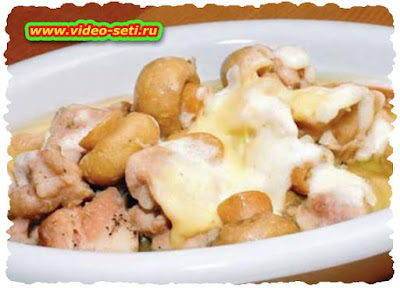 Chicken with Cheese