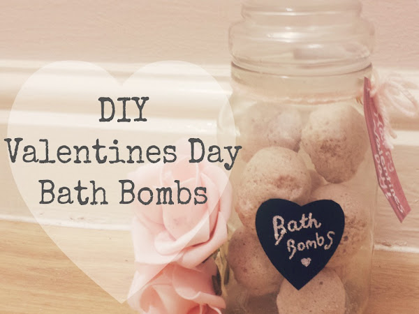 DIY Valentines Day Bath Bombs
