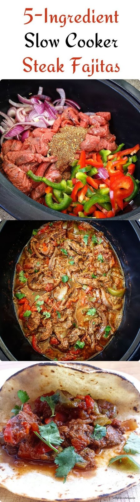 5-INGREDIENT SLOW COOKER STEAK FAJITAS    #DESSERTS #HEALTHYFOOD #EASYRECIPES #DINNER #LAUCH #DELICIOUS #EASY #HOLIDAYS #RECIPE #SPECIALDIET #WORLDCUISINE #CAKE #APPETIZERS #HEALTHYRECIPES #DRINKS #COOKINGMETHOD #ITALIANRECIPES #MEAT #VEGANRECIPES #COOKIES #PASTA #FRUIT #SALAD #SOUPAPPETIZERS #NONALCOHOLICDRINKS #MEALPLANNING #VEGETABLES #SOUP #PASTRY #CHOCOLATE #DAIRY #ALCOHOLICDRINKS #BULGURSALAD #BAKING #SNACKS #BEEFRECIPES #MEATAPPETIZERS #MEXICANRECIPES #BREAD #ASIANRECIPES #SEAFOODAPPETIZERS #MUFFINS #BREAKFASTANDBRUNCH #CONDIMENTS #CUPCAKES #CHEESE #CHICKENRECIPES #PIE #COFFEE #NOBAKEDESSERTS #HEALTHYSNACKS #SEAFOOD #GRAIN #LUNCHESDINNERS #MEXICAN #QUICKBREAD #LIQUOR