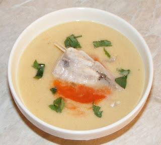 supa crema de peste, peste, mancaruri cu peste, retete de mancare, retete culinare, retete de peste, preparate din peste, retete copii,