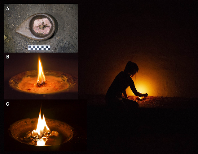 Light in darkness: an experimental look at Palaeolithic cave lighting