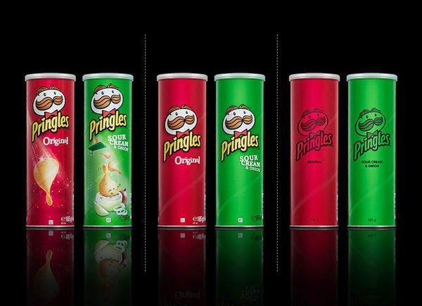 Pringles bared Packaging design